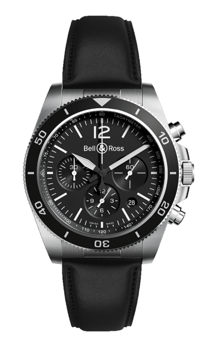 Bell & Ross BR V3-94 BLACK STEEL 43mm