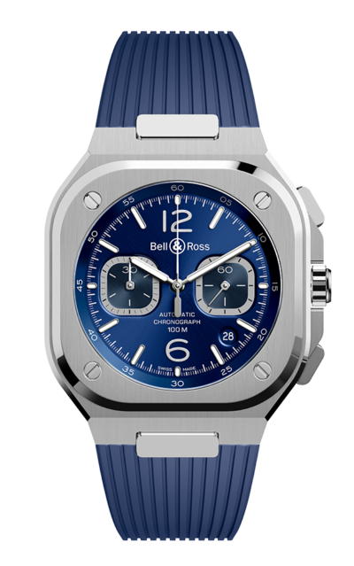 Bell & Ross BR 05 CHRONO BLUE STEEL 42mm