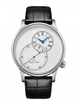Jaquet Droz GRANDE SECONDE OFF-CENTERED SILVER 43mm