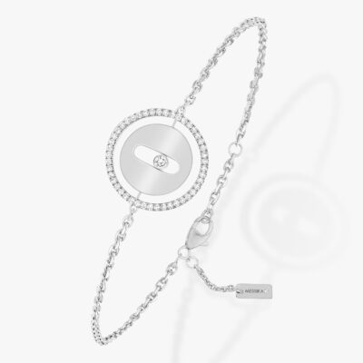 Messika Paris WEISSGOLD DIAMANT ARMBAND LUCKY MOVE PM