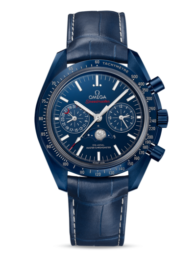 Omega Speedmaster MONDPHASE- CO-AXIAL MASTER CHRONOMETER MOONPHASE CHRONOGRAPH Blue Side ot the Moon 44.25 MM