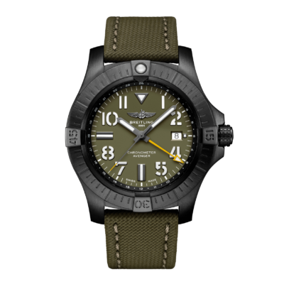 BREITLING AVENGER AUTOMATIC GMT 45mm NIGHT MISSION LIMITED EDITION